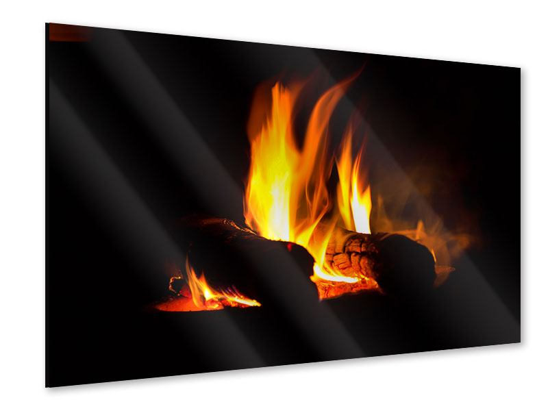 Acrylic Print The Fireplace