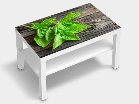 Furniture Foil Basil Leaves
