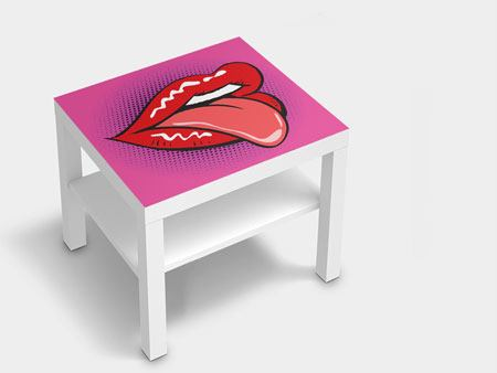 Furniture Foil Pop Art Mouth