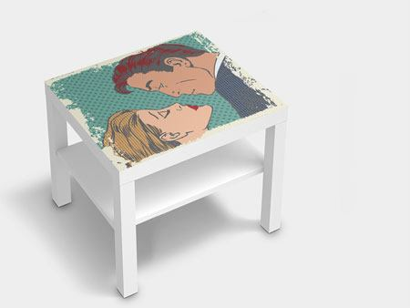 Furniture Foil Pop Art Dedication
