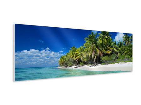 Panoramic Forex Print The Dream Island