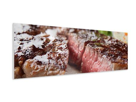 Panoramic Forex Print Perfect Beef Filet