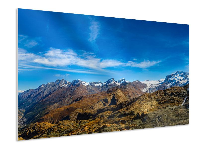Forex Print Swiss Alps In Spring