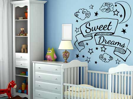 Wall Sticker Sweet Dreams