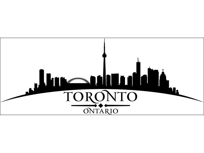 Wall Sticker Skyline Toronto