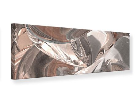 Panoramic Canvas Print Abstract Glass Tiles
