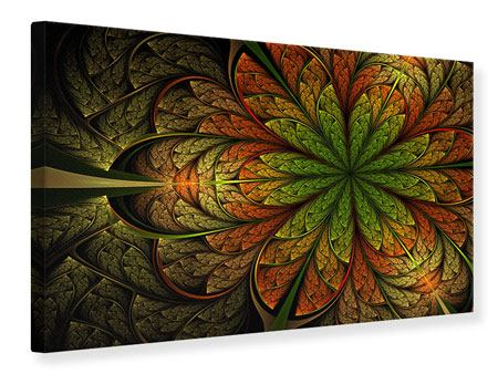 Canvas Print Abstract Floral Pattern