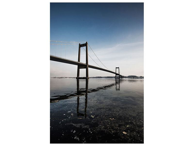 Canvas Print Modern Bridge