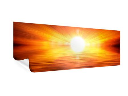 Panoramic Poster Glowing Sunset