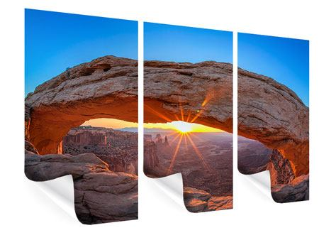 3 Piece Poster Sunset At Mesa Arch