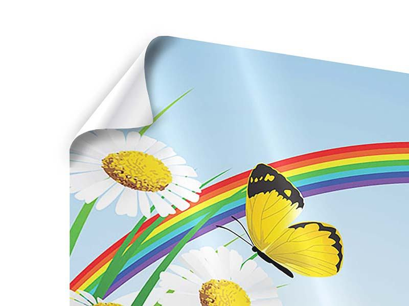 Poster The Colorful Rainbow