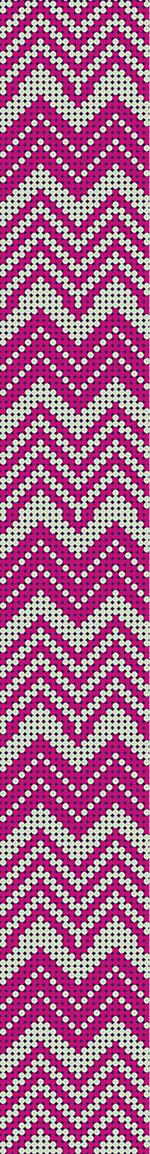 Papier peint design Dot Chevron