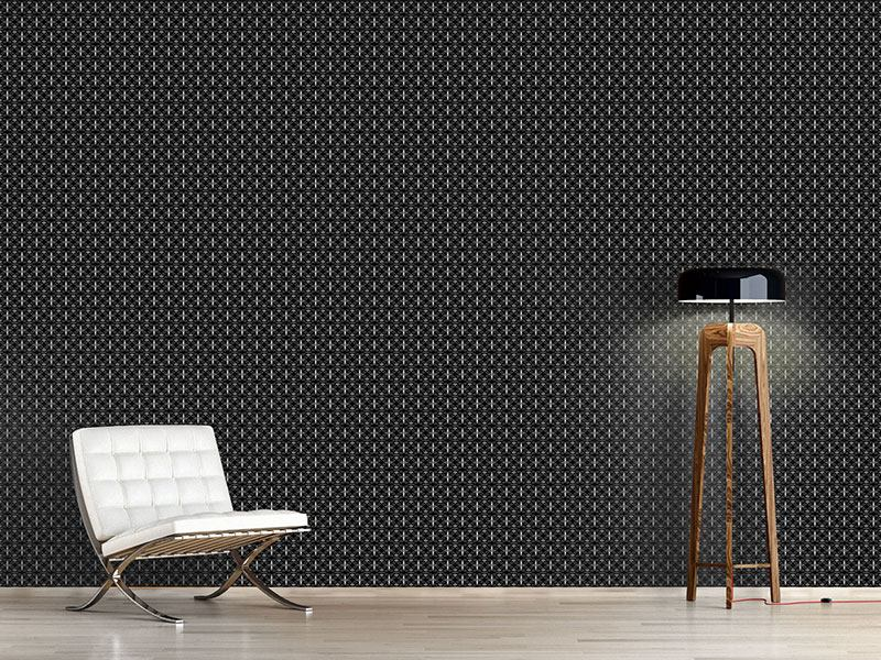 Design Wallpaper Bandana Grid