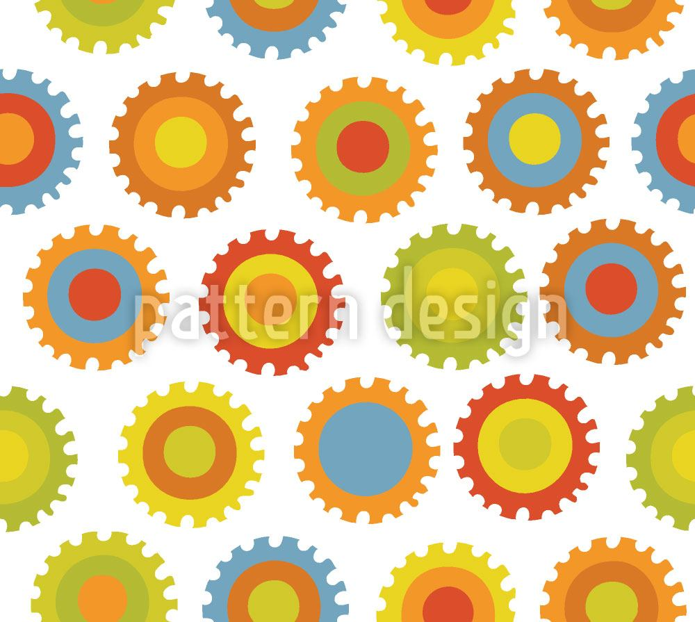 Design Wallpaper Gear Color