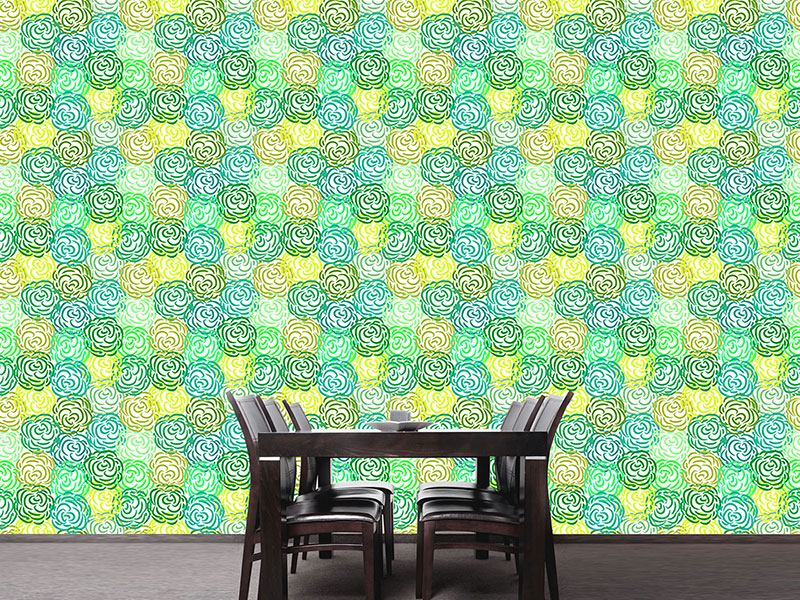 Design Wallpaper Spring Roses