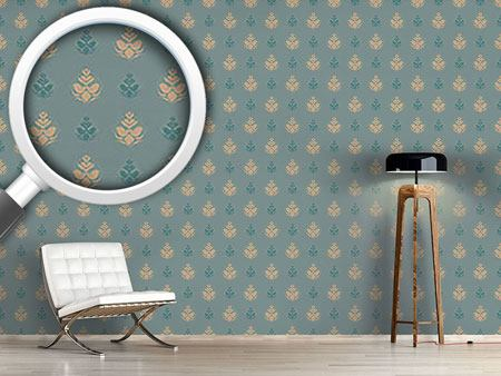 Design Wallpaper Cool Flower Opulence
