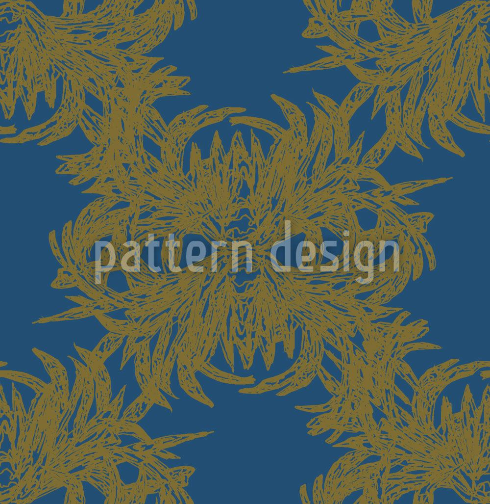 Papier peint design Algae Exquisite