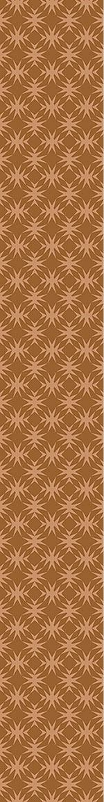 Papier peint design Star Check In Caramel