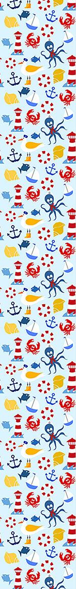 Papel tapiz de diseño Nautical Sea