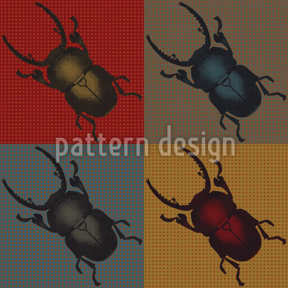 Design Wallpaper Bugs In Autumn
