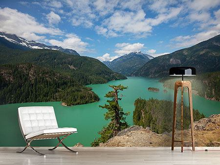 Photo Wallpaper Diablo Lake