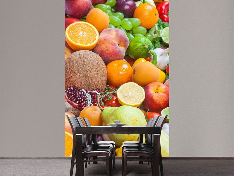 Papier peint photo Fruits frais